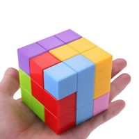 Магнитный куб 3D puzzle Xinbida 3D Magic Magnetic Cube арт.730B
